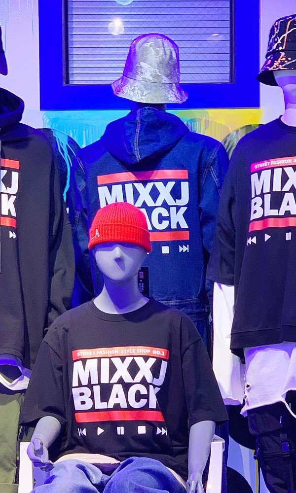 MIXXJ BLACK COORDI BOOK9